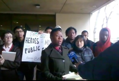 Watch BAMN's press conference to drop the charges against Occupy Cal