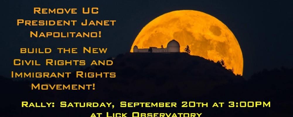 Save Lick Observatory!  Defend Public Education!