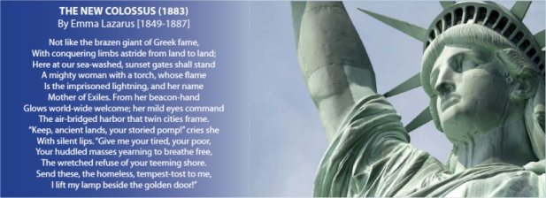 Yearning To Breathe Free Bamn Declaration On Immigrant